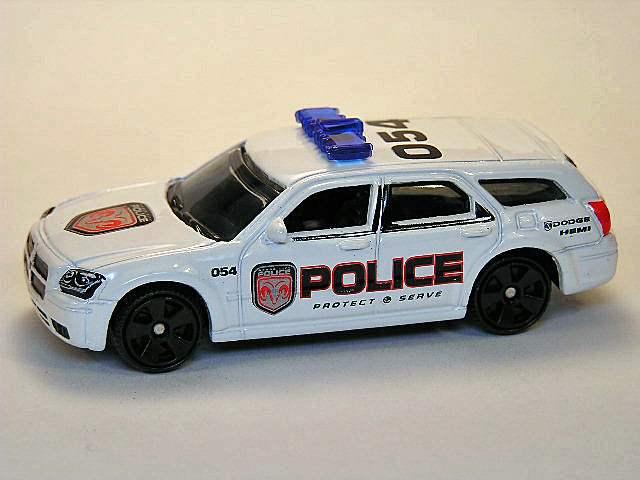 Matchbox Mb30 L Dodge Magnum Police